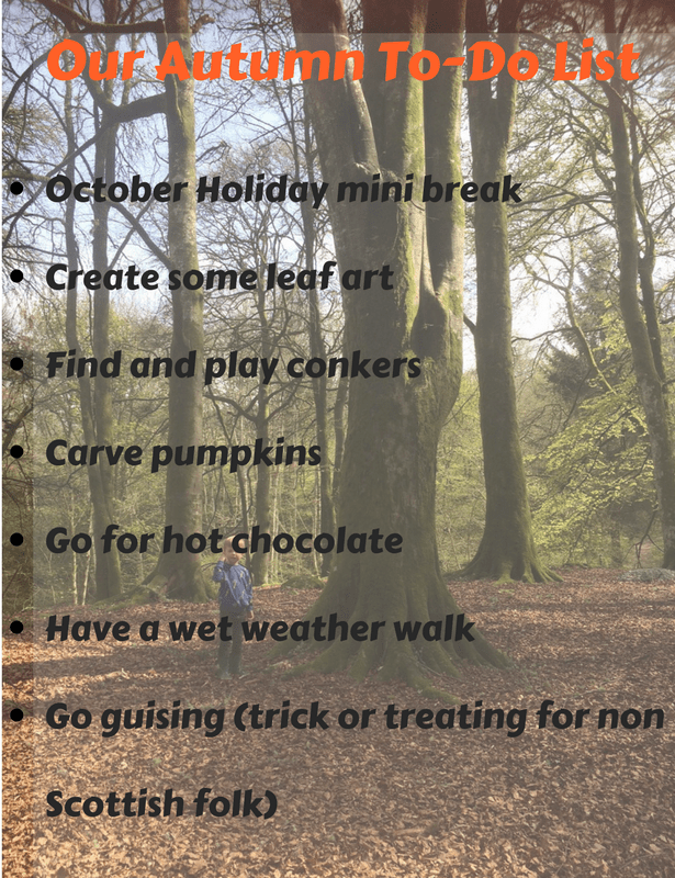 Our Autumn To-Do List